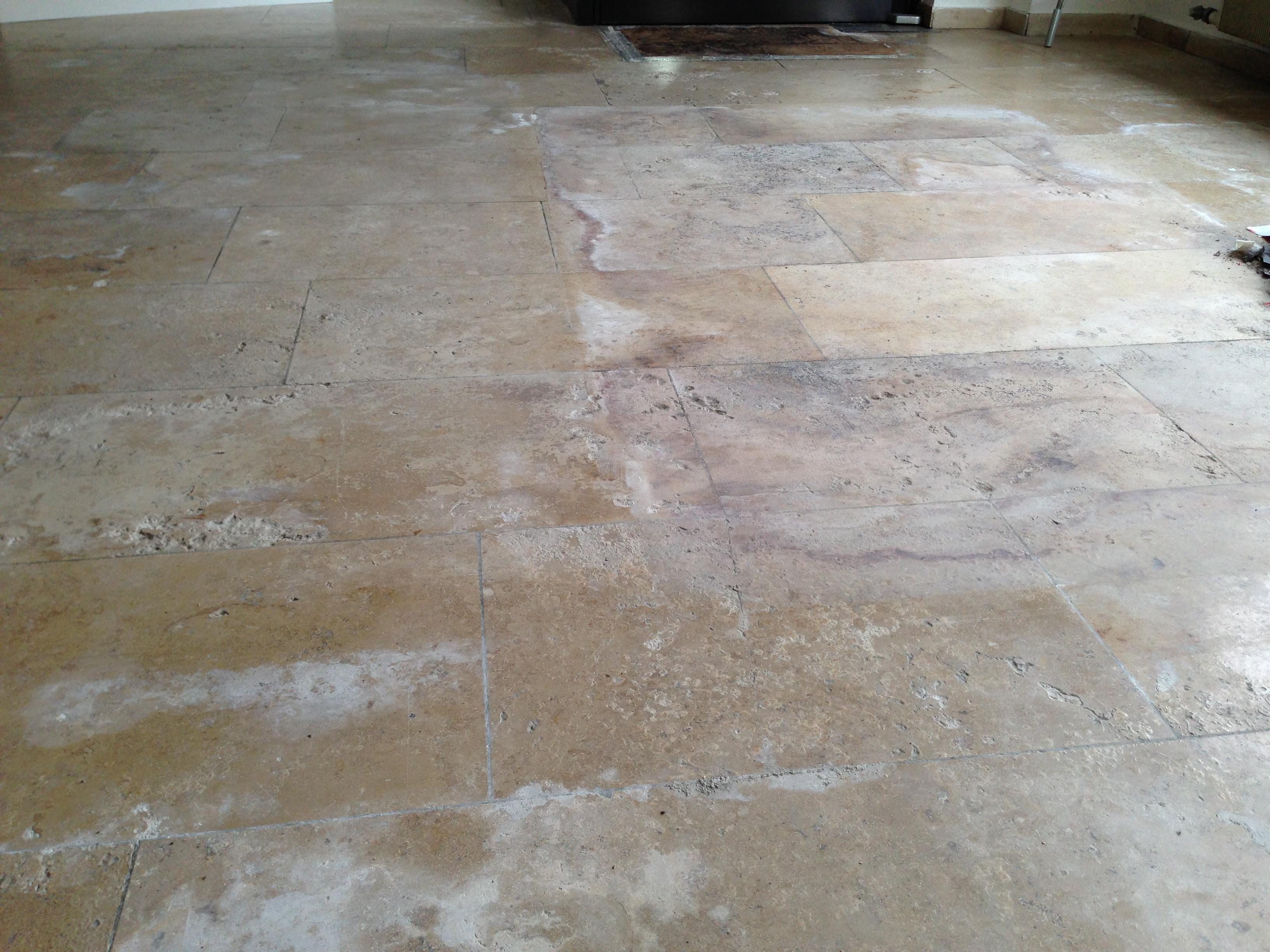 FLOORTEC | Jura-Marmor Vorher Reinigen Schleifen Beschichten Imprägnieren Spachteln schützen pflegen kristallisieren