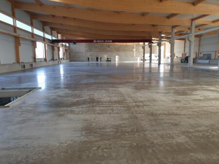 Beton Industrieboden Industriebelag Bodenplatte Nutzboden Industrieestrich polieren Politur Silikatisierung silikatisieren verhärten Schwäbisch Hall